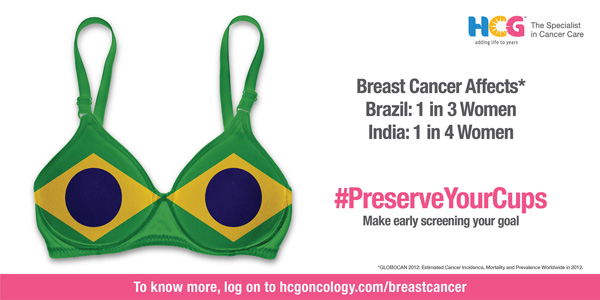 HCG - Breast cancer campaign